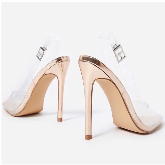 ed6b5d87b6ab Cinderella Slingback Heels. Listing ...